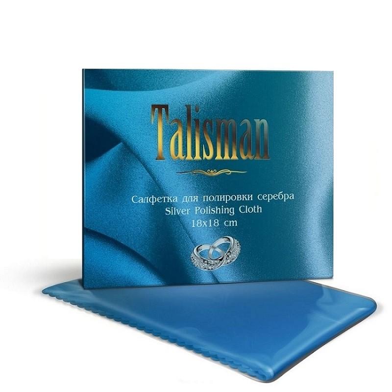 Салфетка для чистки и полировки серебра (18х18 см)