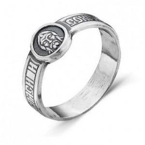 Серебряное православное кольцо «Спаси и Сохрани»