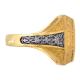 Мужской серебряный перстень «Георгий Победоносец»
