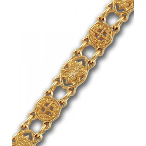 Православный браслет с христианским символом «Хризма»