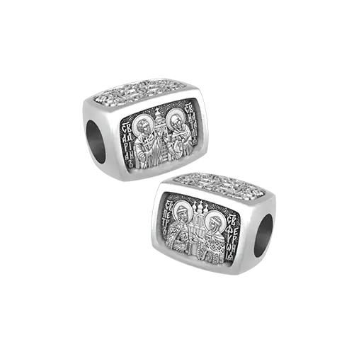 «Покровители Семьи и Брака». Серебряная бусина