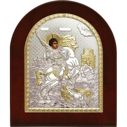 Святой Георгий Победоносец. Икона Арт. 715 OVX