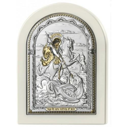 Святой Георгий Победоносец. Икона Арт. И-Д(Б)Р-ЧГП