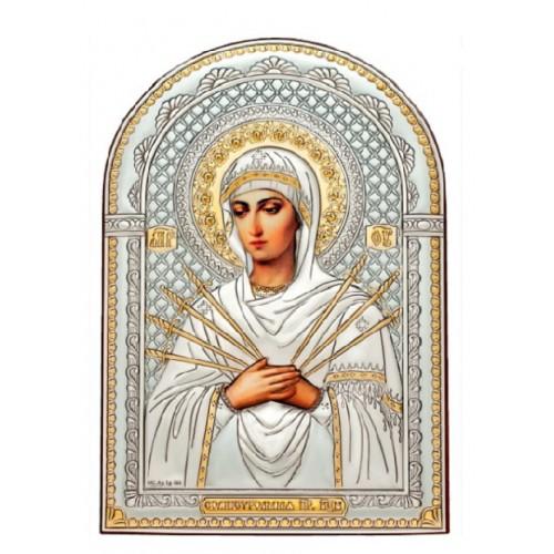 «Семистрельная» икона Божией Матери. Арт. И-Д-СБМ