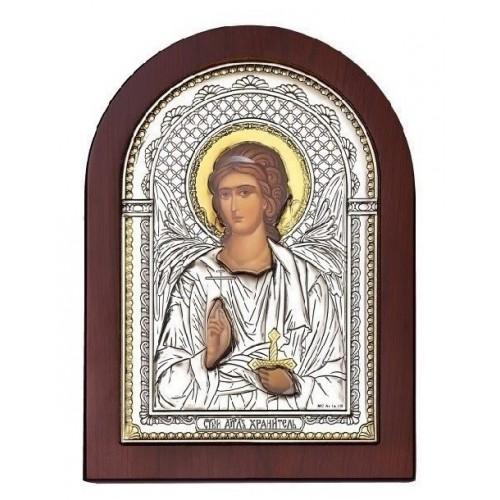 «Ангел-Хранитель». Икона в серебряном окладе И-ДР-АХ