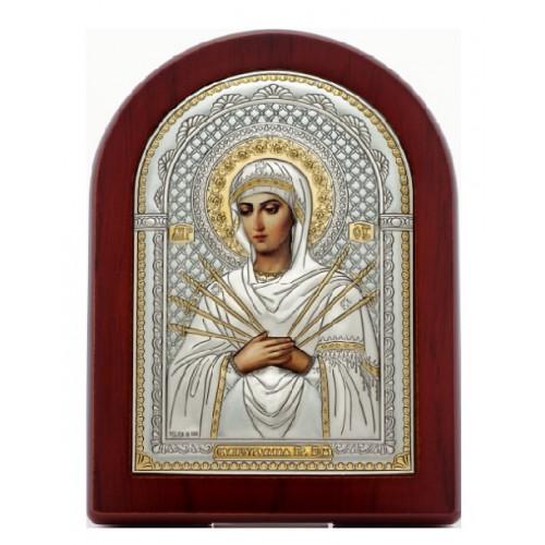 «Семистрельная» икона Божией Матери. Арт. И-ДР-СБМ