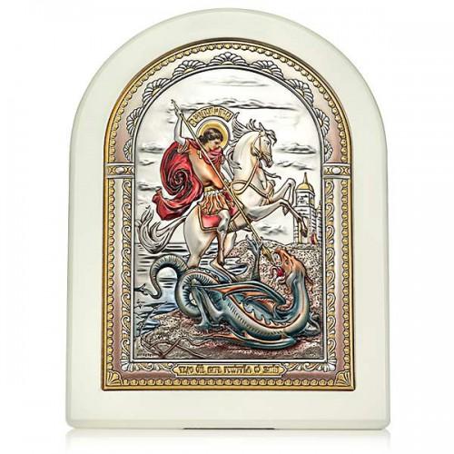 «Чудо Георгия Победоносца о змие». Икона Арт. И-Д(Б)РЦ-ЧГП