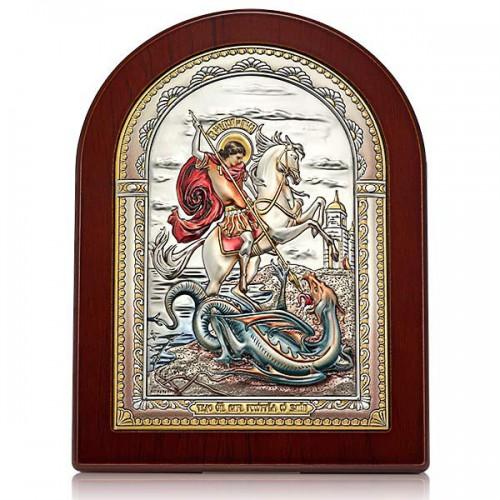 «Чудо св. Георгия Победоносца о змие». Икона Арт. И-ДРЦ-ЧГП