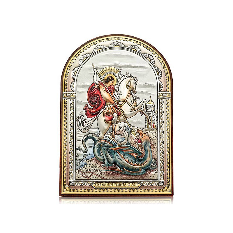 «Чудо Георгия Победоносца о змие». Икона Арт. И-ДЦ-ЧГП