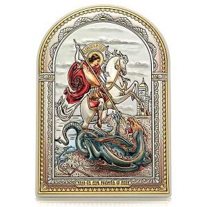 «Чудо Георгия Победоносца о змие». Икона Арт. И-Д(Б)Ц-ЧГП