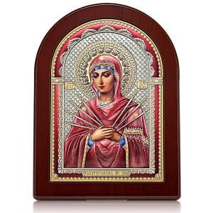 «Семистрельная» икона Божией Матери. Арт. И-ДРЦ-СБМ