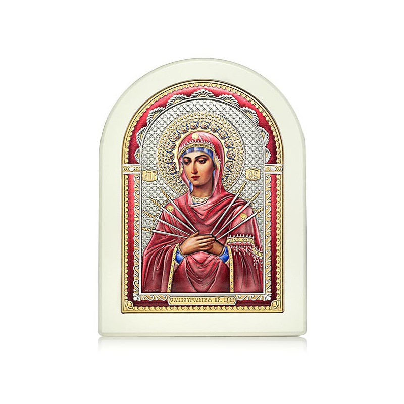 «Семистрельная» икона Божией Матери. Арт. И-Д(Б)РЦ-СБМ