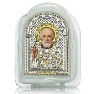 Святитель Николай Чудотворец. Муранское стекло