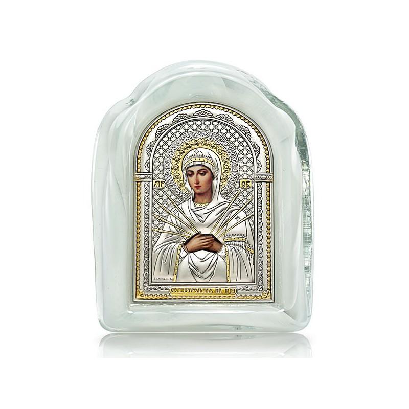 «Семистрельная» икона Божией Матери. Арт. И-М(Б)-СБМ