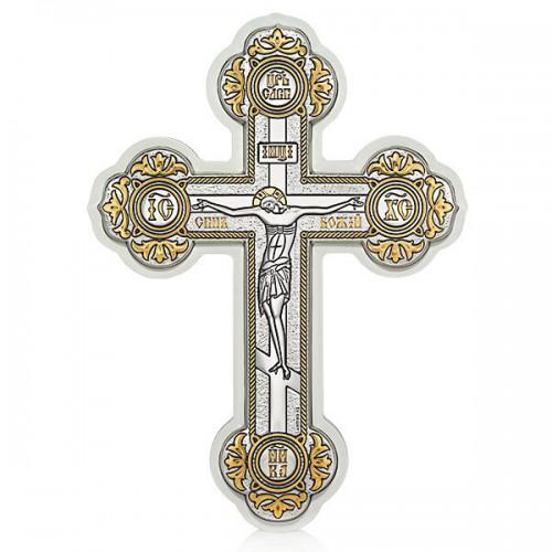 Настенный крест с Распятием Христовым. Арт. РМ(Б)