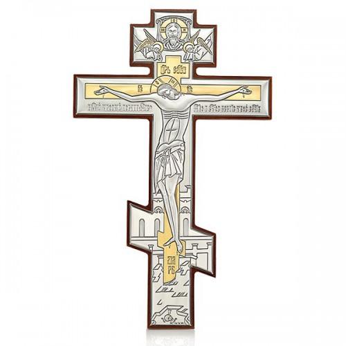 Настенный крест с Распятием Христовым. Арт. РБ