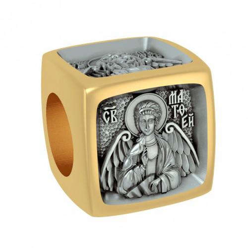 Позолоченная бусина для браслета «Евангелисты»