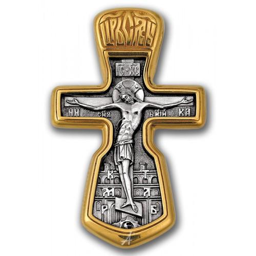 Нательный православный крест «Распятие»