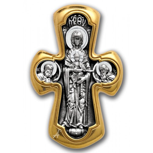 Крест Деисус. Божия Матерь «Никопея»