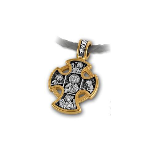 Крест «Господь Вседержитель. Ангел Хранитель» 101.028