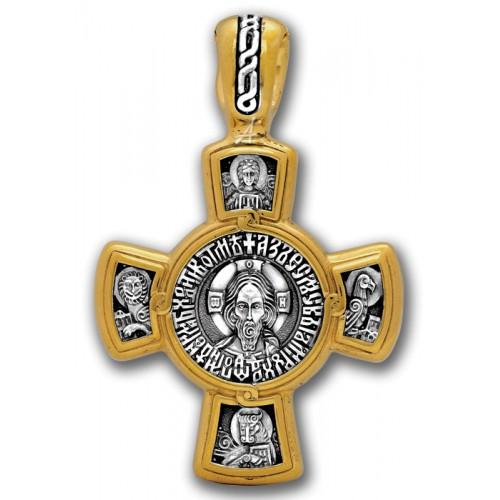 Нательный крестик. Богородица «Касперовская»