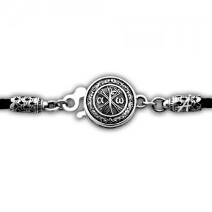 Кожаный шнурок «Хризма» с молитвой «Боже, милостив буди мне грешному» 105.269