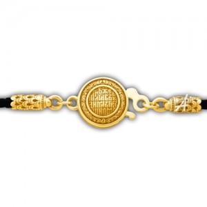 Кожаный шнурок «Хризма» с молитвой «Боже, милостив буди мне грешному» 105.269П