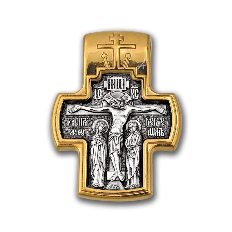 Православный крест  «Распятие. Сретение Господне» 101.055