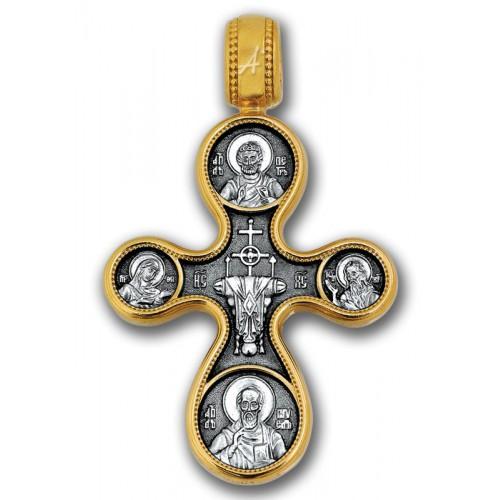 Крест иконостас «Этимасия. Восемь святых» 101.059