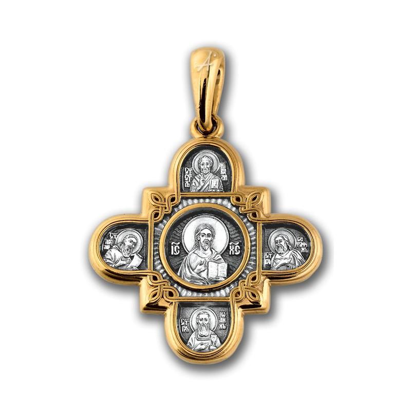 Господь Вседержитель. Казанская икона Божией Матери и восемь святых 101.065