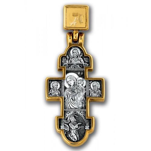 Явление Христа женам-мироносицам. Икона Божией Матери «Нечаянная Радость» 101.096