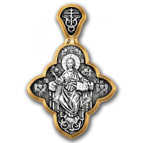 Нательный крест Спас в силах. «Заповедь новую даю вам»
