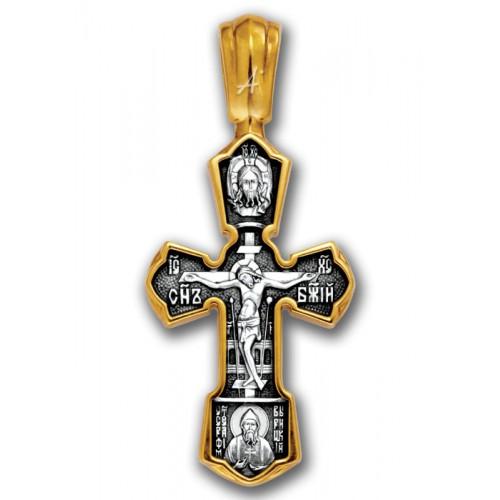 Наперсный православный крестик «Николай Чудотворец» (арт 101.243)