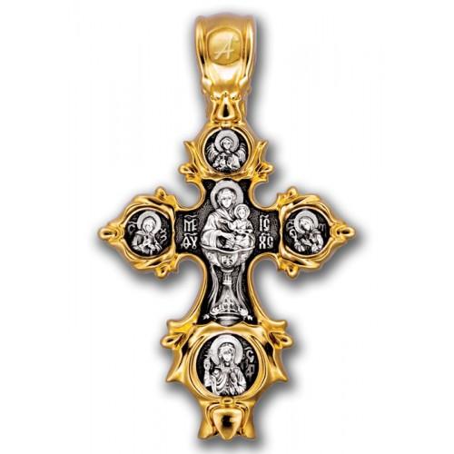 Распятие. Икона Божией Матери «Живоносный источник» 101.249