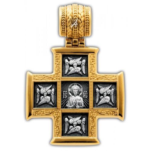Крест со сценами жития Целителя Пантелеимона (арт 101.255)