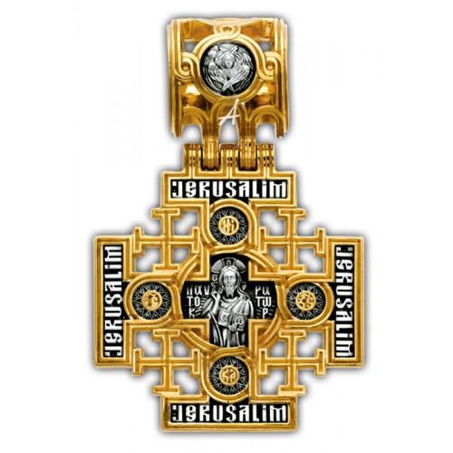 Крест «Господь Вседержитель. Иерусалимская икона» 101.263