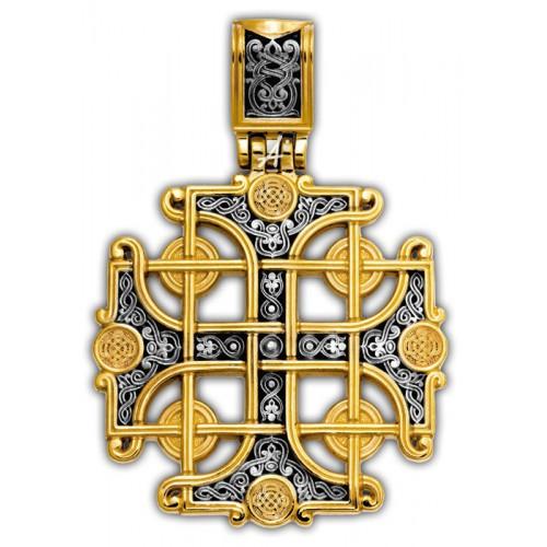 Византийский нательный крест «Константинов» (арт 101.266)