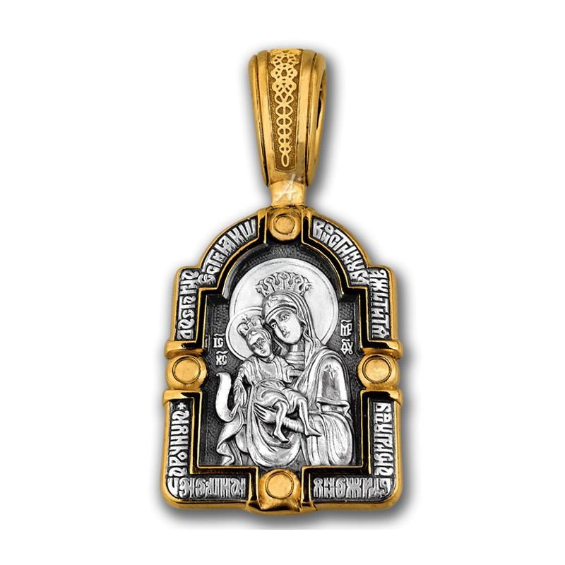Икона Божией Матери «Достойно есть». Архангел Гавриил