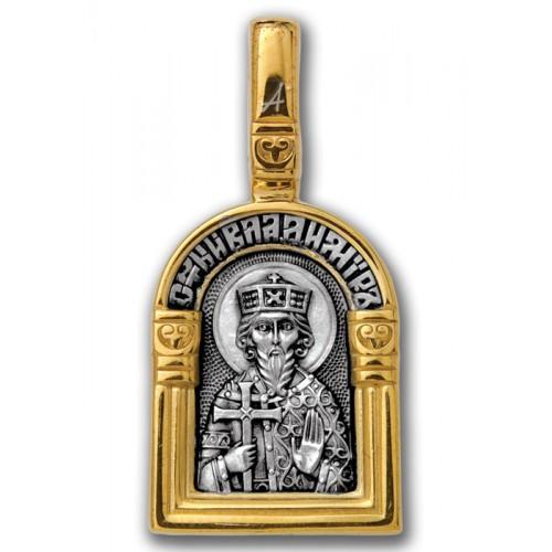 Св. равноапостольный великий князь Владимир. Ангел Хранитель 102.115