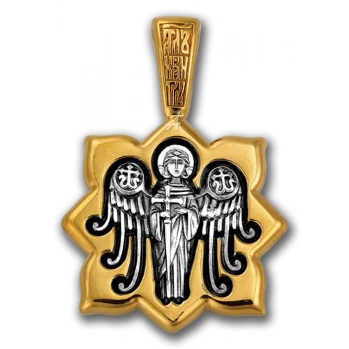 Святая мученица Татиана. Ангел. Нательный образок
