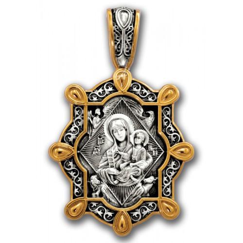 Нательная икона Божией Матери «Неопалимая Купина»