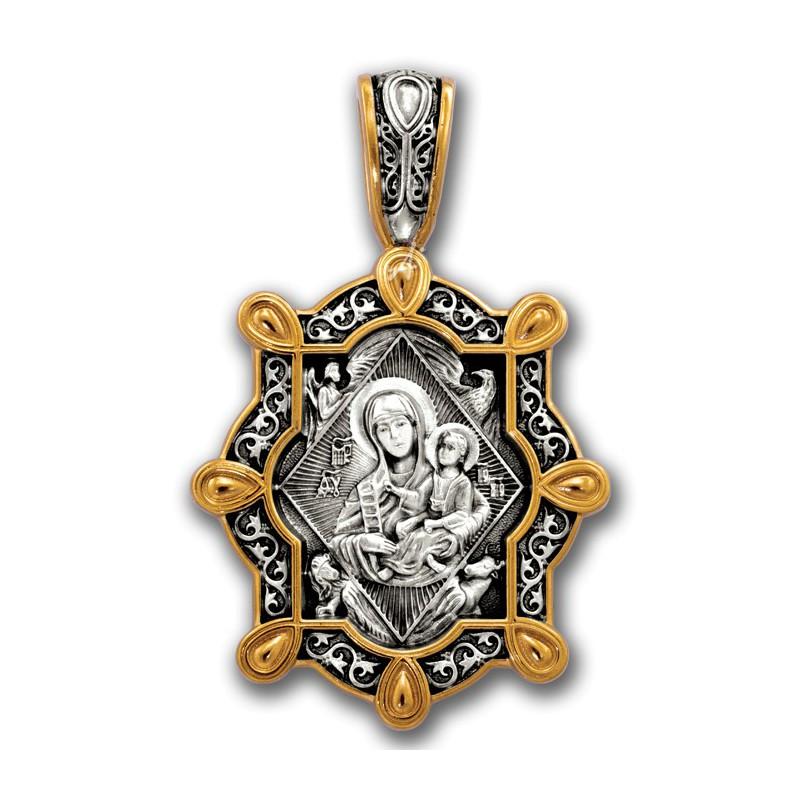 Нательная икона Божией Матери «Неопалимая Купина» 102.235