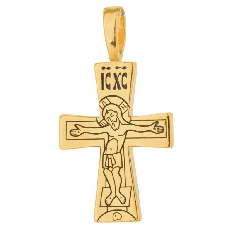 Крест с Распятием и Богородицей 746