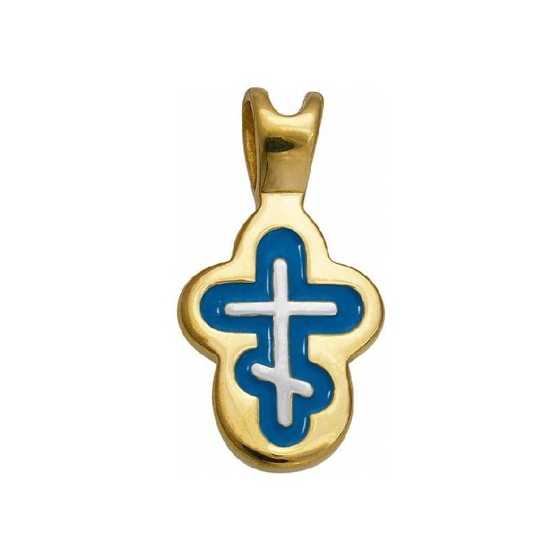 Крест нательный «Отроческий» 556-3