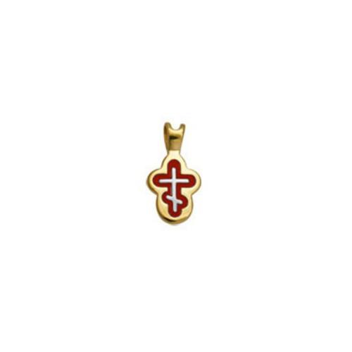 Крест нательный «Отроческий» 556-1