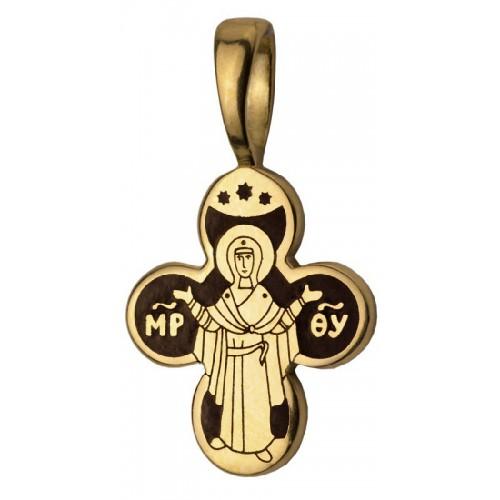 Крест нательный «Оранта» 755-3