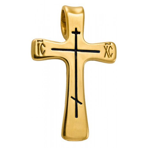 Нательный православный крест «Простой»