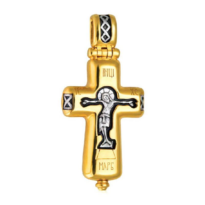 Распятие Христово. Наперсный крест мощевик