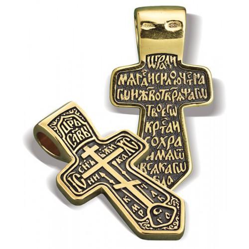 Нательный православный крест «Муромский» КР018