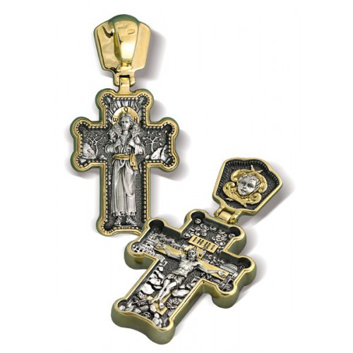 Крест «Пастырь добрый» КР039